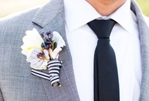 Boutonnieres / by Posh Petals & Pearls
