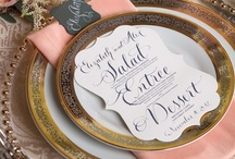 Place Settings / by Posh Petals & Pearls