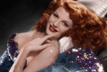 """Rita Hayworth gave good face""-Madonna's Vogue / Classic Hollywood"