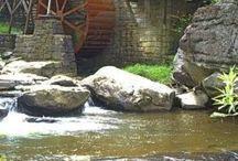 Water Wheels | Water Mills | Grist Mills / #water_wheels #water_mills #grist_mills #mills