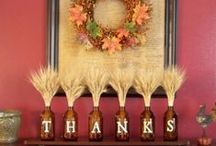 Table Settings for Thanksgiving  / Ideas for creative table setting this Thanksgiving.