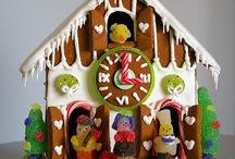 Christmas Gingerbread Houses / Gingerbread houses to bake and make.