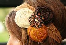 Hair accessories / by Cynthia McGeahy