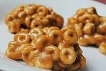 I made this with cereal / Recipes using cereal in some creative way. / by Lea Ann Stundins