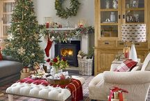 Christmas Decor / Ideas for home decor and tree decorations to make your home a festive feast for the eyes