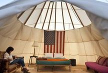 Teepees, Trailers, and Yurts / by Dena Newman
