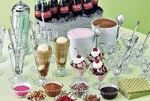Milkshake Bar / Recipes and ideas for the milkshake bar in church