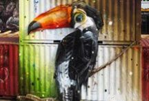 Animal Street Art