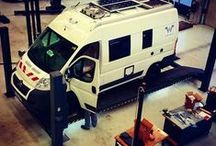 Aus- und Aufrüstung für den Campingbus