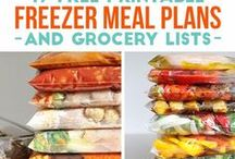 Freezer Meal Recipes / crockpot recipes, freezer meals