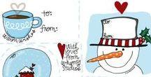 Christmas Printables / Ideas, tutorials and freebie prinatbles for Christmas
