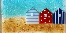 Glass / Gorgeous glass ideas and tutorials for fused glass, pate de verre, stained glass, glass art and more