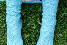 Socken selber stricken / Selbstgestrickte Socken - handknitted socks. Lace - Ajour - Zopfmuster - cables.