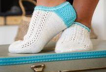Sneakersocken. Sneakersocks. / Knitted sneaker socks.  Sneakersocken stricken.