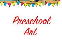 Preschool Art / Fun art activities for the preschool child. I've tried to focus more on process art than crafts.  Painting, printing, collaging, gluing, sticking and tons of glitter (its my favourite).