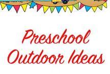 Preschool outdoor ideas