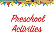 Preschool Activities / Fun activities to include during the day at school. Includes yoga and relaxation for children.