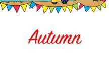 Autumn Preschool Theme Ideas / Activities for Autumn. Art, songs, literacy etc.