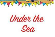 Under the Sea Preschool Theme Ideas / Sea and beach activities. Lighthouse art, hermit crab activities, shipwrecks and more!