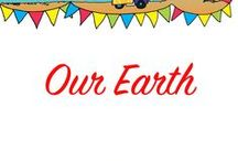 Our Earth Preschool Theme Ideas / Earth Day activities and eco friendly ideas to help teach our children how to take care of our Earth.
