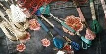 hand embroidery Ручная вышивка Bordado a mano / I found a fantastic hobby and this is hand embroidery.
