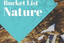 """Bucket List Nature / Les plus inspirantes photos de voyage nature autour du monde! Planche collaborative: postez uniquement les plus belles photos et n'oubliez pas de mentionner la localisation dans la description de vos pins! Merci :) Important: pas de pins """"couverture d'article"""" uniquement les plus belles photos (illustrations et cartes visuelles sont aussi OK)!"""