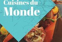 Manger autour du monde / Une collection de plats délicieux, simples, étranges ou magnifiques. Voyagez tout en saveurs! Découvrez la gastronomie et les spécialités culinaires d'autres pays!