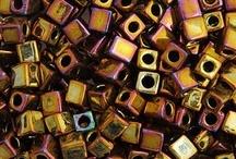 Miyuki Cube Beads / by TooCuteBeads.com