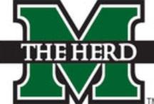 All Things Football..Go Herd / Marshall University / by Marilyn Thompson
