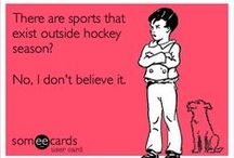 Best sport ever.  / Hockey > any other sport  / by Hannah Kathryn (: