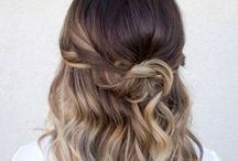 Hair / Hair Tips, Braids, Waves, Curls, Buns, Pony Tails, etc. / by Katie Thrasher