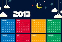 Calendar 2013 / Download Free Calendar 2013 in various themes and resolutions from 123newyear.com / by Newyear Celebration