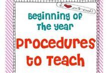 Classroom - Beginning of the Year
