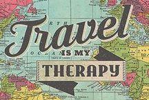 Inspiration au voyage / Collection de citations, d'articles et d'images inspirant au voyage.