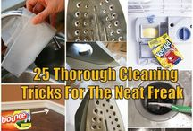 Cleaning Tips/Tricks/Hacks / by Angella White