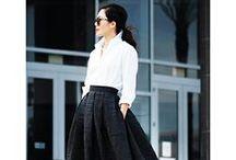 Modern & Alluring Street Style / Street Style of today's modern & alluring women