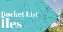 """Bucket List Îles / Les plus inspirantes photos de voyage sur les îles autour du monde! Planche collaborative: postez uniquement les plus belles photos et n'oubliez pas de mentionner la localisation dans la description de vos pins! Merci :) Important: pas de pins """"couverture d'article"""" uniquement les plus belles photos (illustrations et cartes visuelles sont aussi OK)!"""