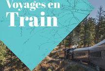 Voyage en train / J'aime les voyages en train.Cette planche leur est entièrement dédiée!