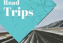 Road trips / Collection d'idées et d'inspiration pour organiser des road trips. Vive le voyage, vive la route!