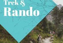 Marche, Trek et Randonnée / Collection d'idées et d'inspiration pour la marche, le trek et la randonnée. Balades au coeur de la nature, dans les plus beaux paysages du monde. La plus belle façon de voyager!