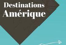 Destinations Amérique / Un voyage dans les Amériques. Découvrez toutes l'inspiration et les bonnes idées pour un voyage aux Etats-Unis, en Amérique du Sud, au Canada...