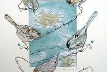 Cartes du monde / Parce qu'une carte, c'est le plus bel objet du monde :) Découvrez le voyage illustré.