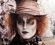 Johnny Depp - Kapelusznik ( Alicja w krainie czarów)