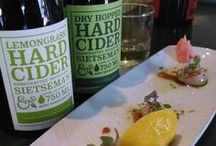 Hard Cider Pairings / What to have with hard apple cider