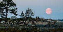 Murmansk region. Night and light / Night and light