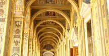 St. Petersburg. Interiors of museum and cathedral / St. Petersburg, Russia. Interiors of museum, palace, cathedral, etc.