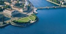 St. Petersburg. Rivers and floor / St. Petersburg rivers and floor