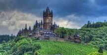 Architecture. Ancient castles / Architecture ancient castles