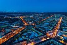 Murmansk region. Cities / Murmansk region. Cities