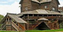 Architecture. Wood church of the world / Wooden church of the world